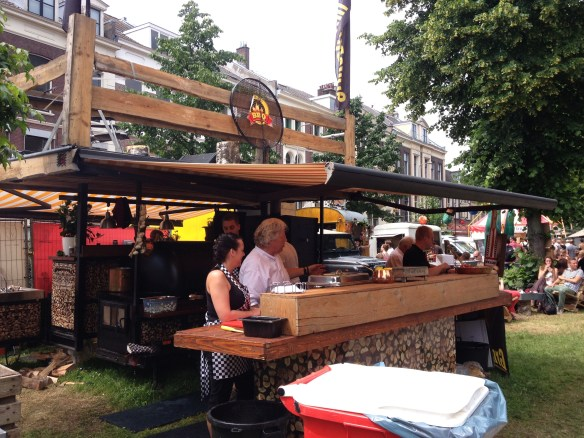 The Trek to the Utrecht Food Truck Festival
