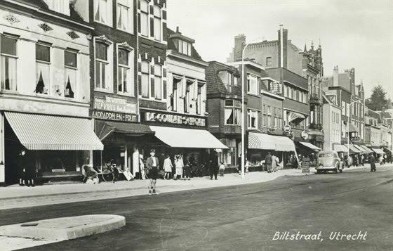 Biltstraat 1947 (Het Utrechts Archief)