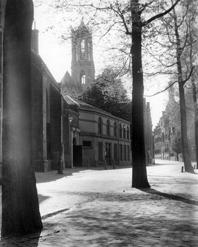 domtoren seen from pieterskerkhof 1925 HUA credit
